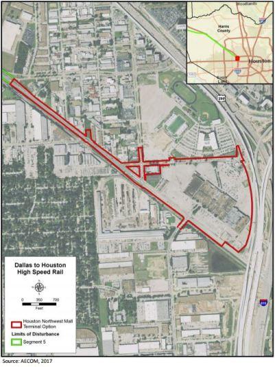 Houston Train Station Option 2